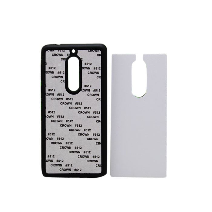 Sublimation Rubber Phone Cover For Nokia5