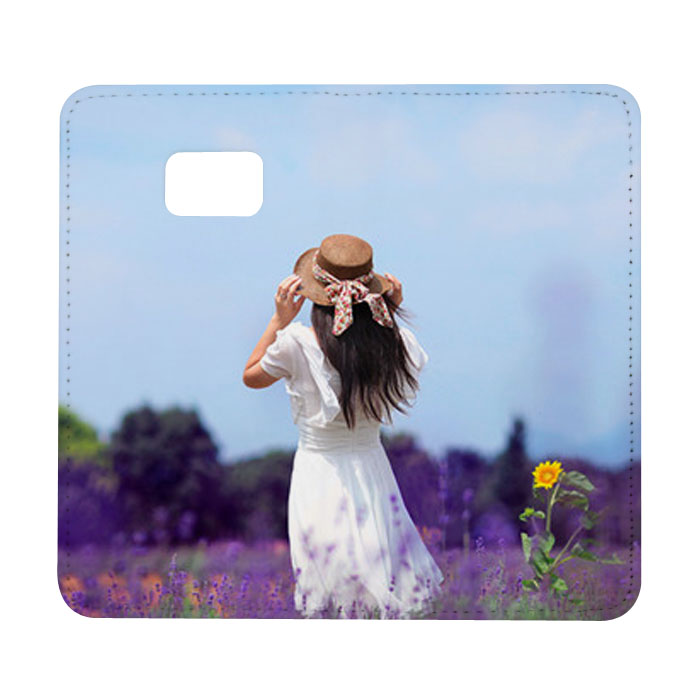 New Sublimation Leather Flip Phone Case For SamSung S7