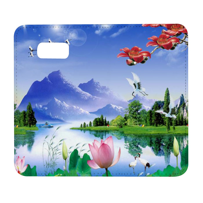 New Sublimation Flip Leather Phone Case For SamSung S8 Plus