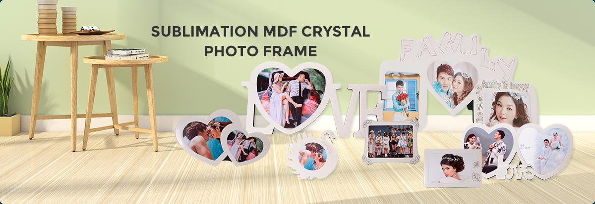 sublimation MDF photo frame