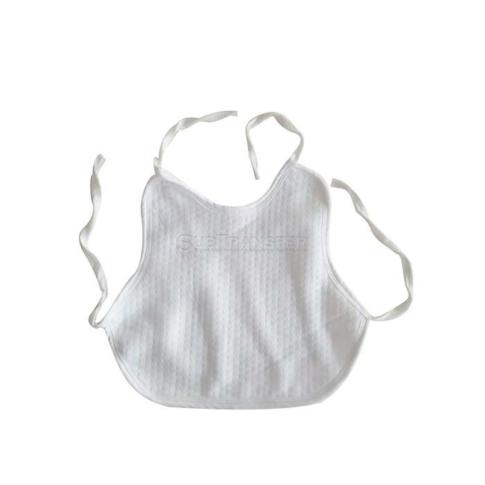 Sublimation Full White Baby bib
