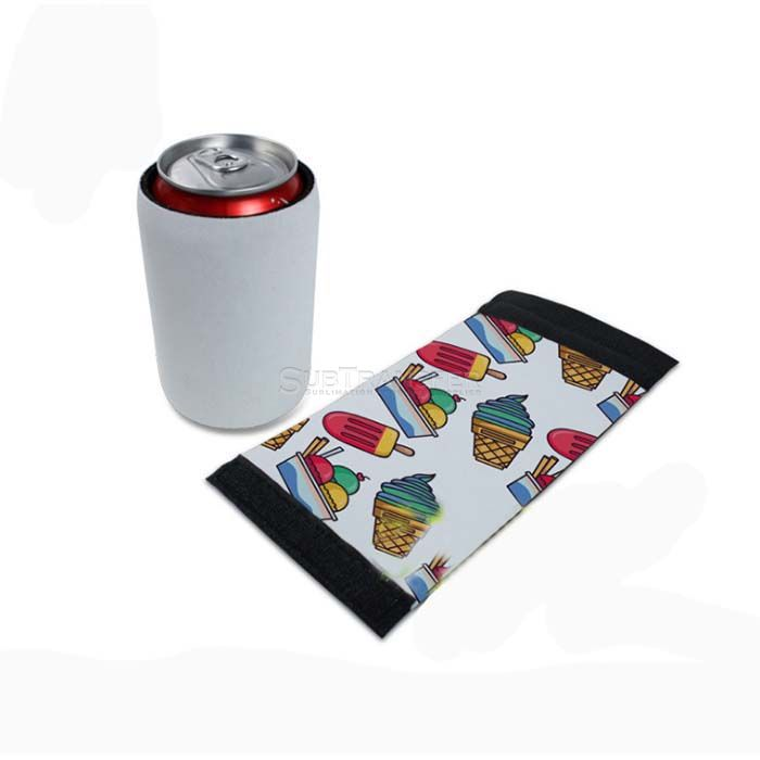 Sublimation Neoprene Can Cooler