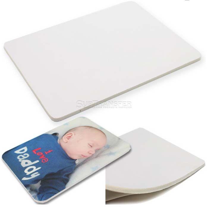 Sublimation White Rubber Mouse Pad