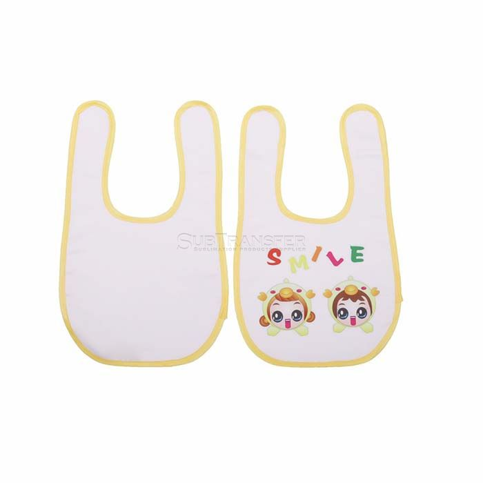 Sublimation Baby bib with Velcro