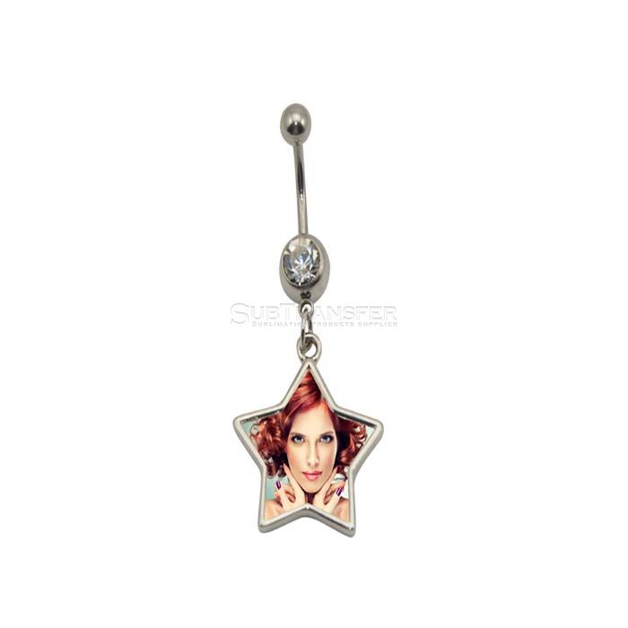 Sublimation Belly Button Ring