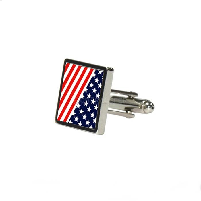 Sublimation Square Cufflink