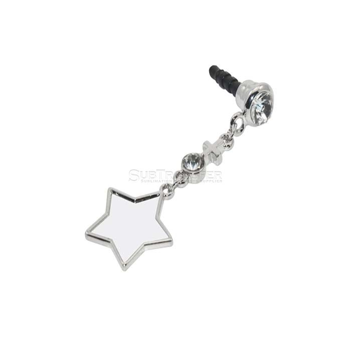 Sublimation Earphone Stopper Star Shape