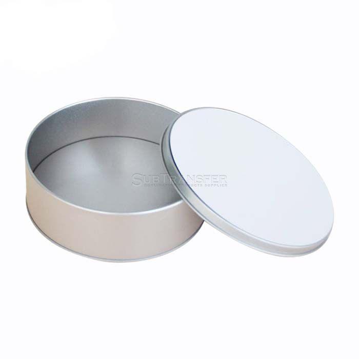 Sublimation Metal Tin Round Shape