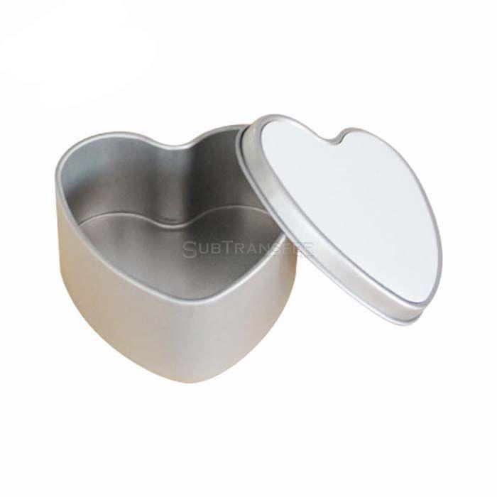 Sublimation Metal Tin Heart Shape