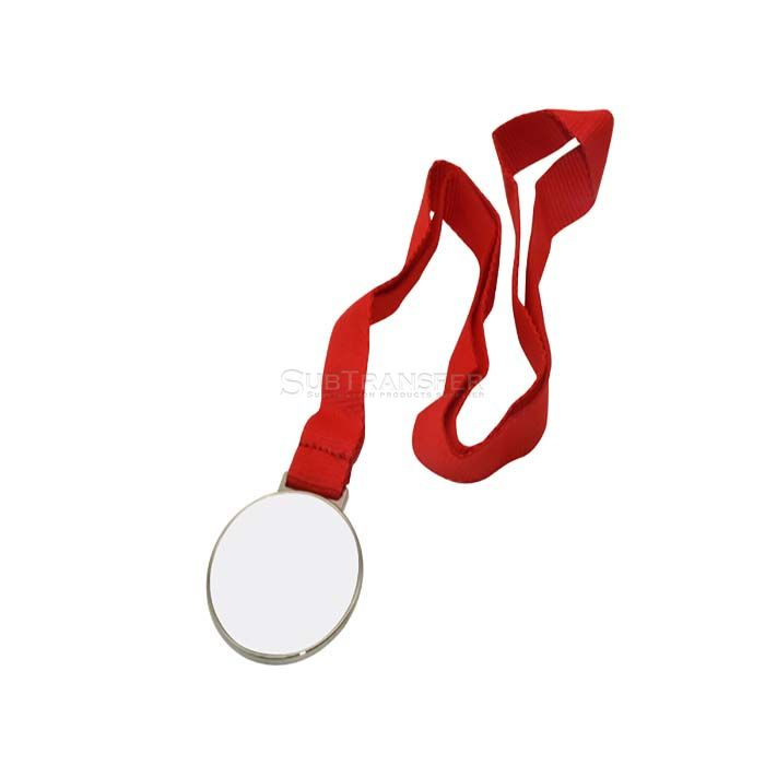 Sublimation Medal Silver