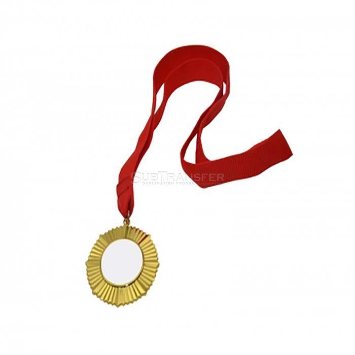 Sublimation Gold Medal