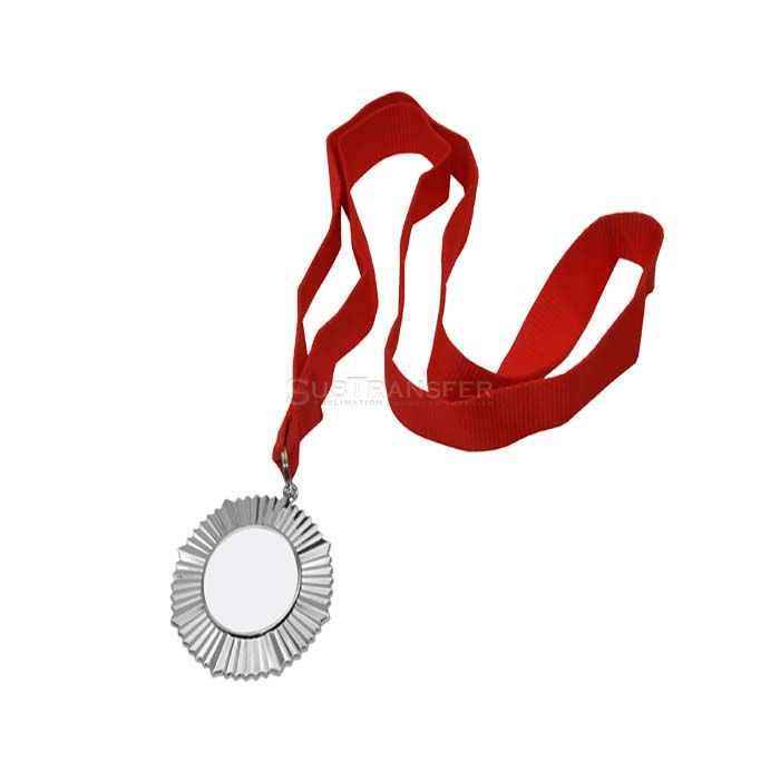 Sublimation Silver Medal