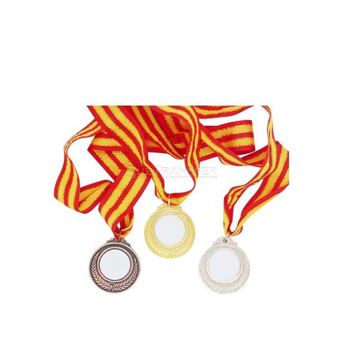 Sublimation Medal With Ribbon