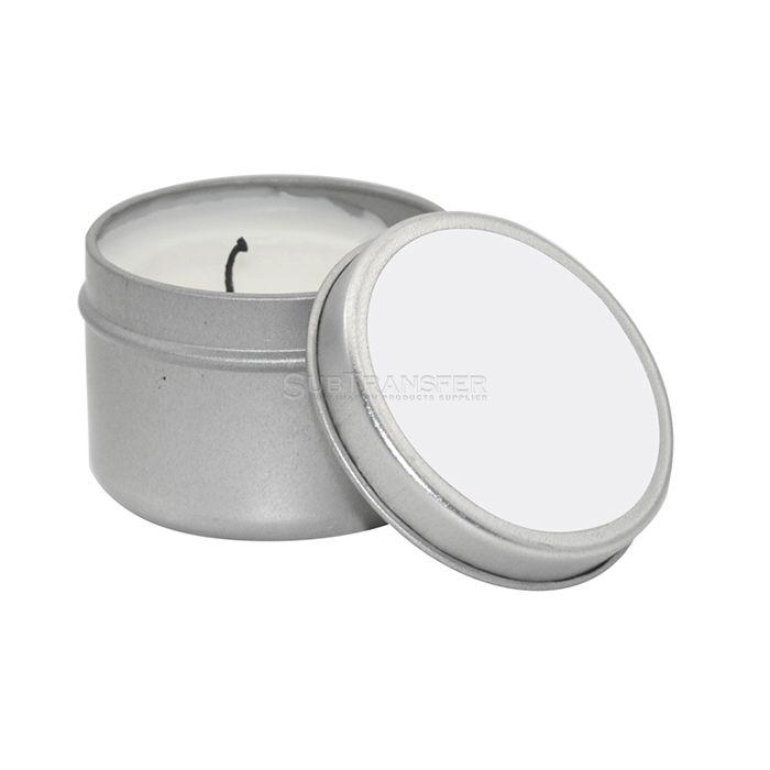 Sublimation Candle Metal Tin(3.5*5cm)