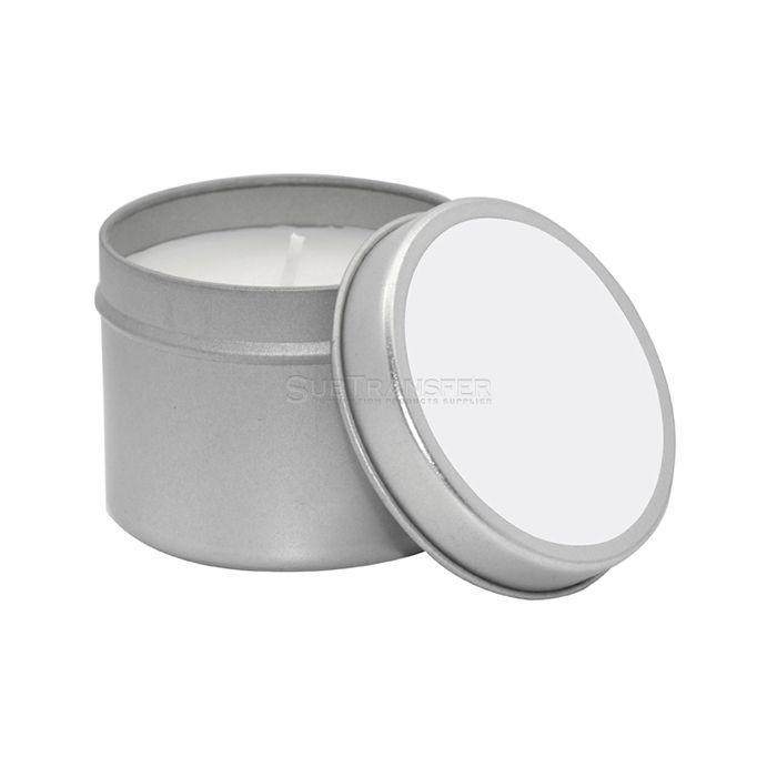 Sublimation Candle Metal Tin(5*6cm)