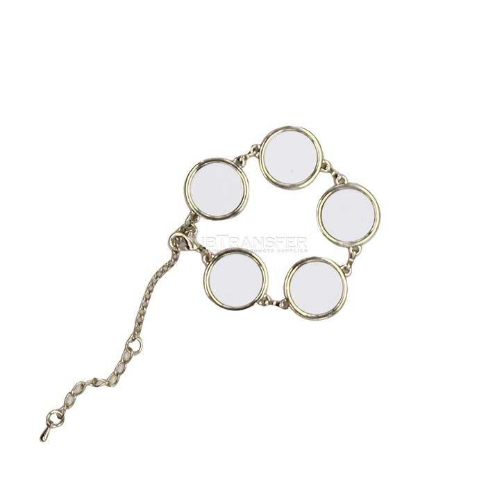 Sublimation Round Bracelet