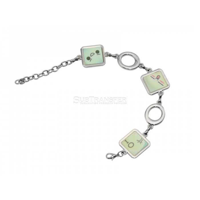Sublimation Bracelet Square Shape
