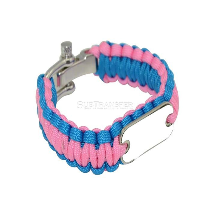 Sublimation Paracord Bracelet