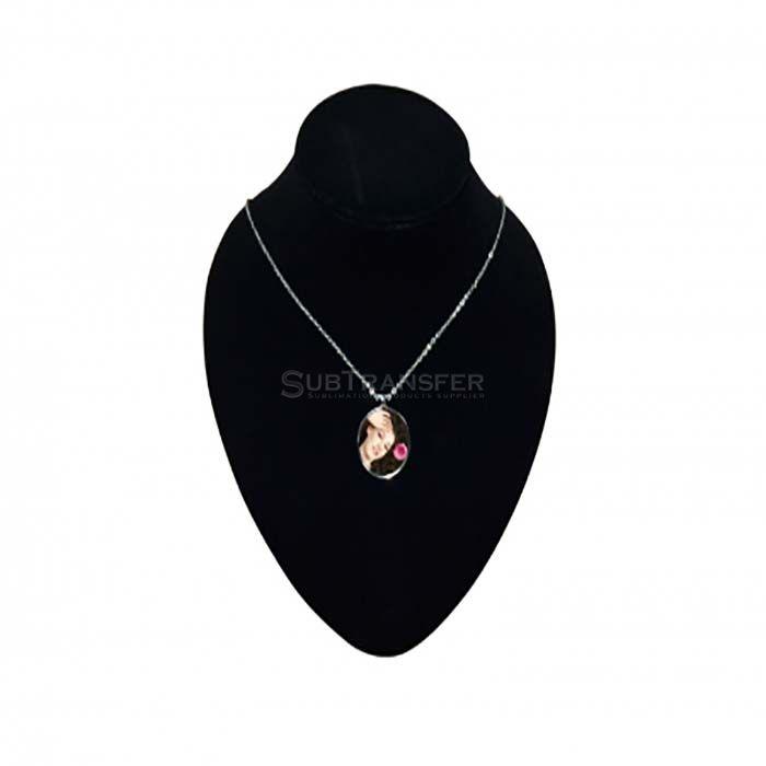Sublimation Necklace Round Shape