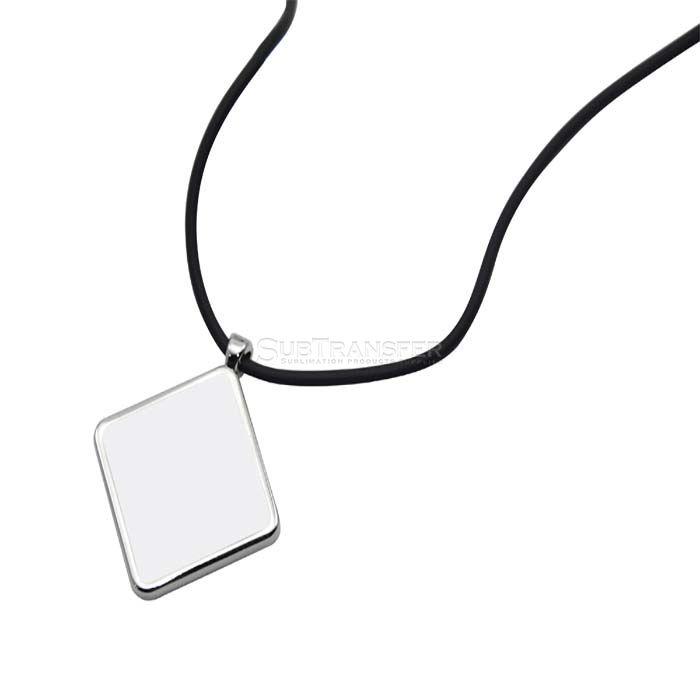 Sublimation Necklace Prismatic Shape