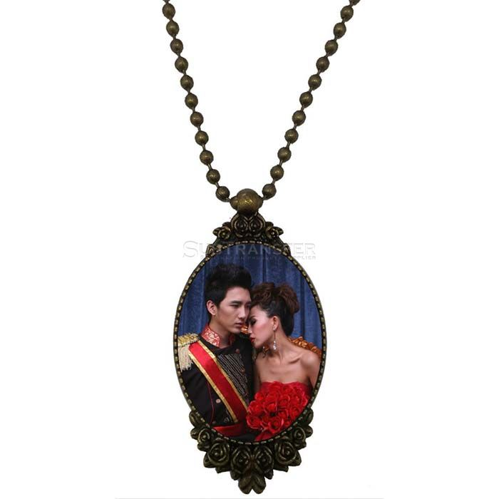 Sublimation Necklace With Pendant