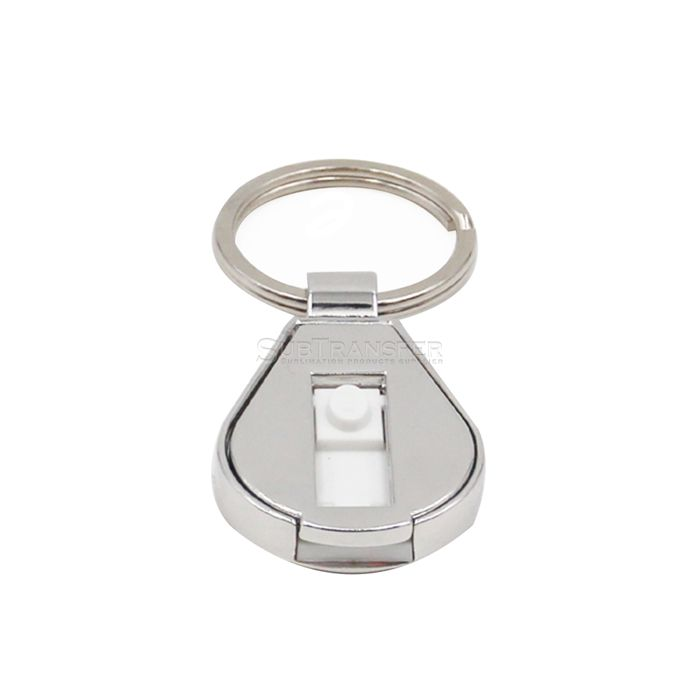 Sublimation USB Flash Disk With Keyring
