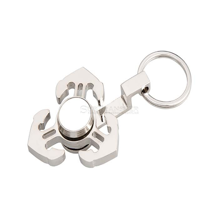 Sublimation Fidget Spinner With Keyring