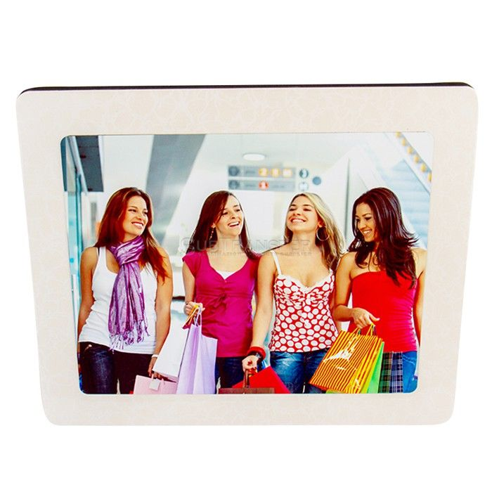 Sublimation MDF Hardwood Crystal Photo Frame MD01
