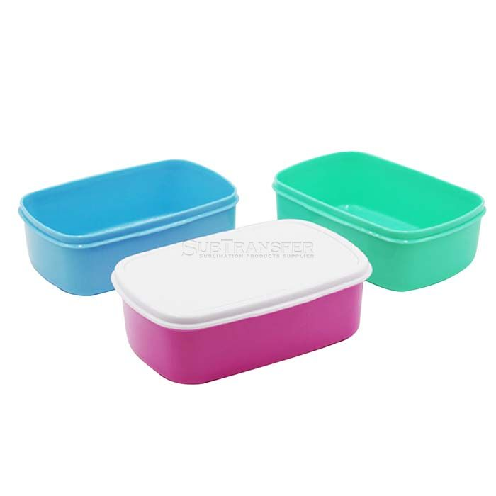 Sublimation Plastic Lunch Box Rectangular
