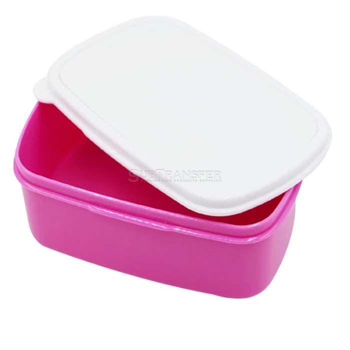 Rectangular Sublimation Plastic Lunch Box