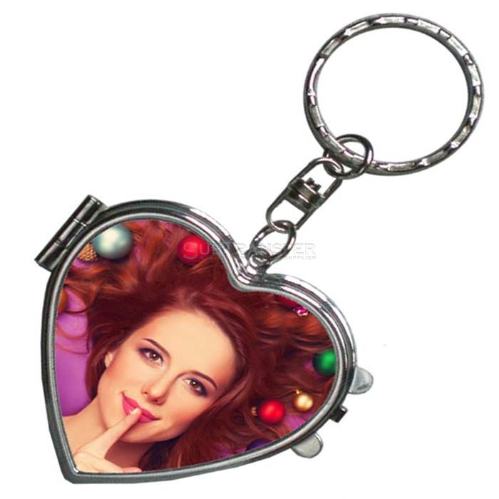 Sublimation Mirror With Keyring