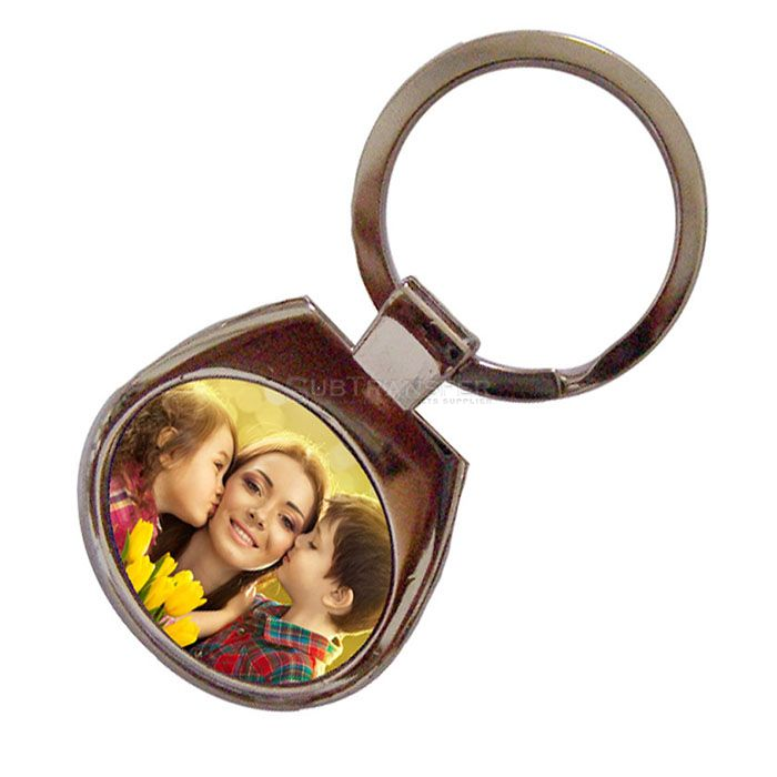 Sublimation Blank Metal Keychain A89