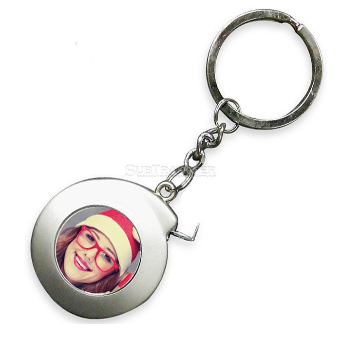 Sublimation Measuring Tape With Keyring
