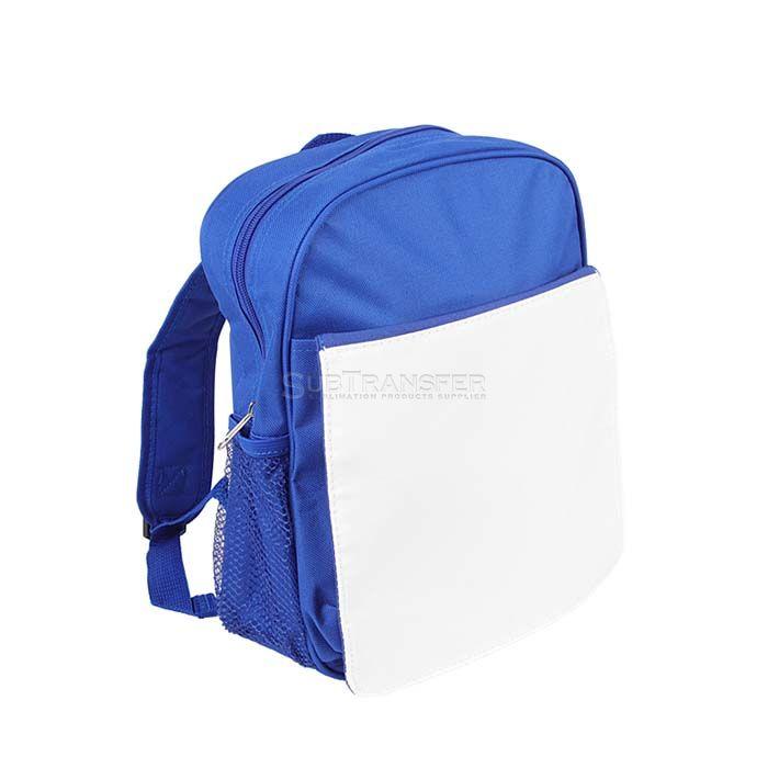 Sublimation Kids Bag Blue