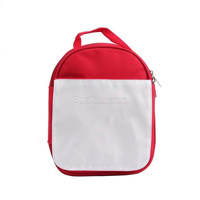 Sublimation Lunch Bag Red