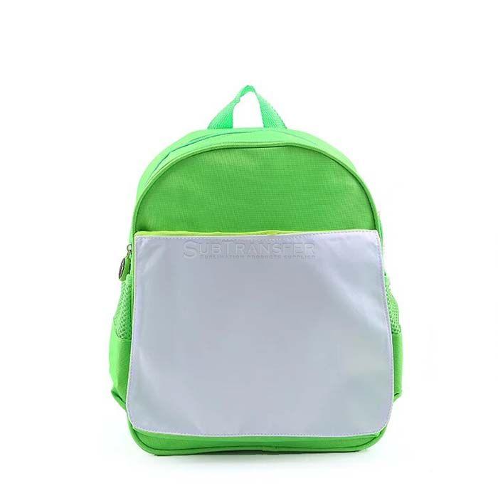Green Sublimation Kids Backpack