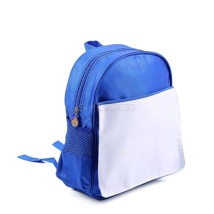 Blue Sublimation Schoolbag