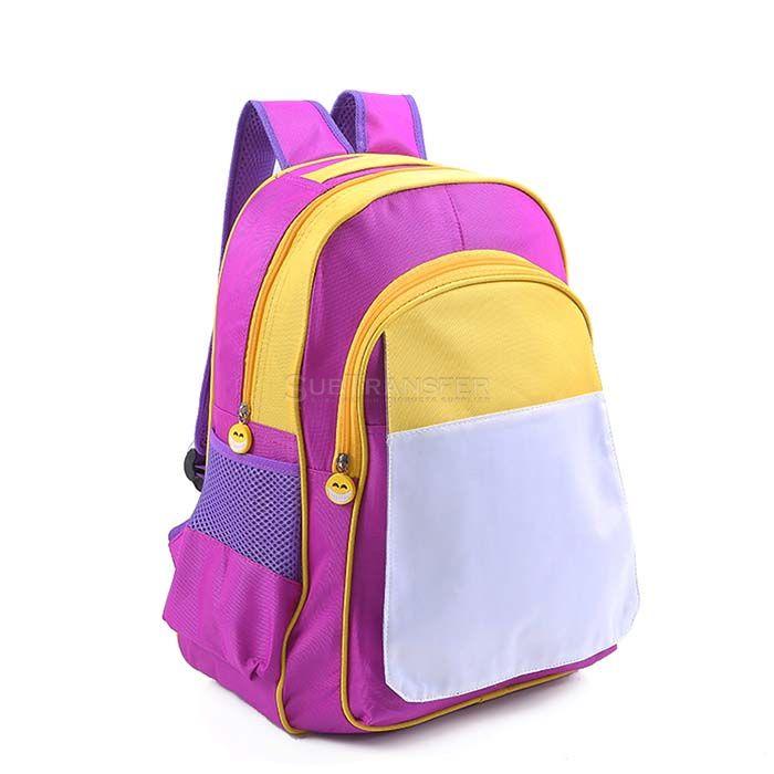 Sublimation Kids School Bag