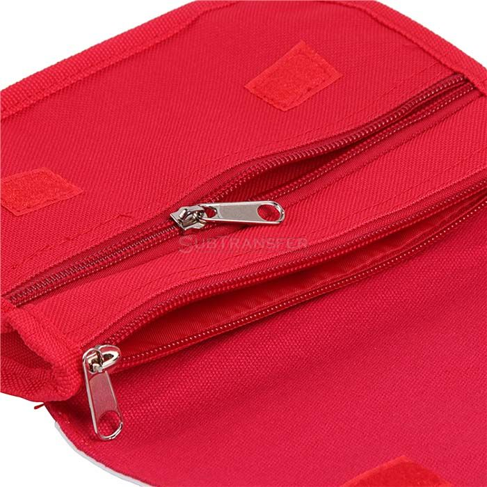 Sublimation Cosmetic Bag Red Color