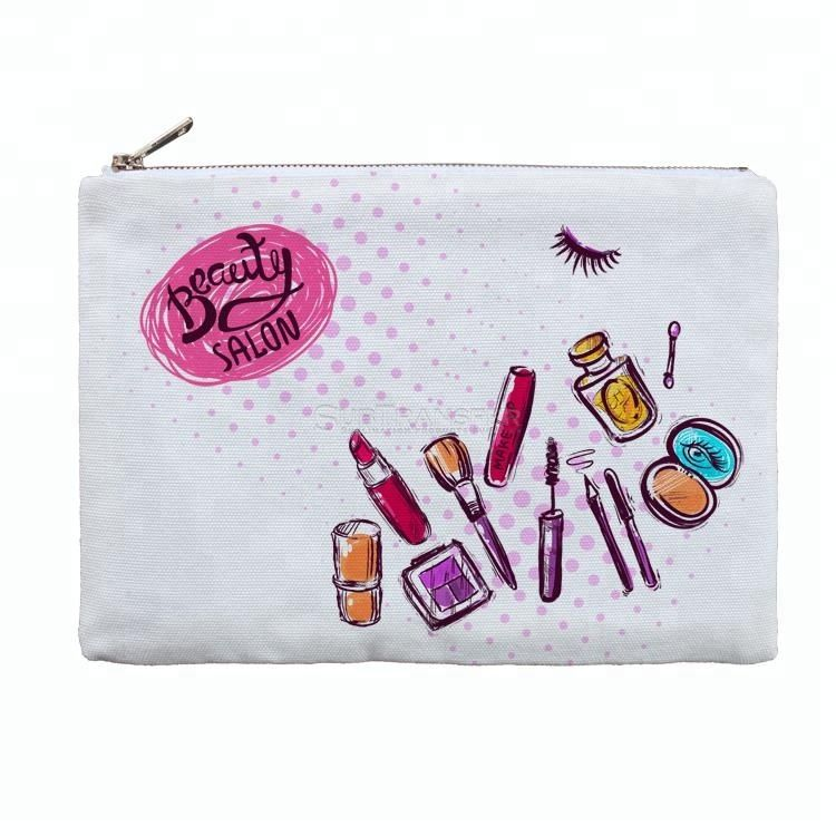 Sublimation White Cosmetic Bag