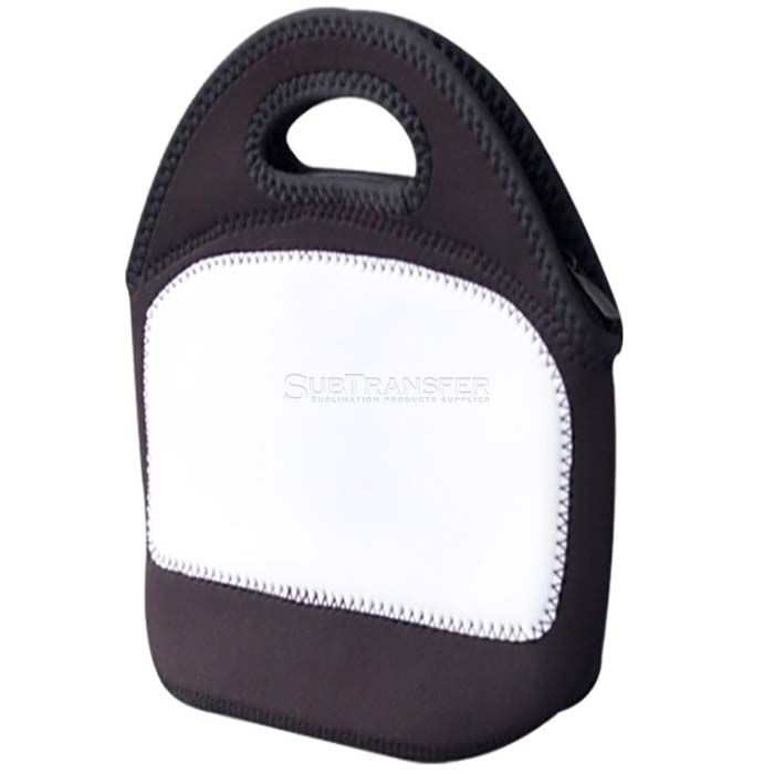 Sublimation Black Lunch Bag