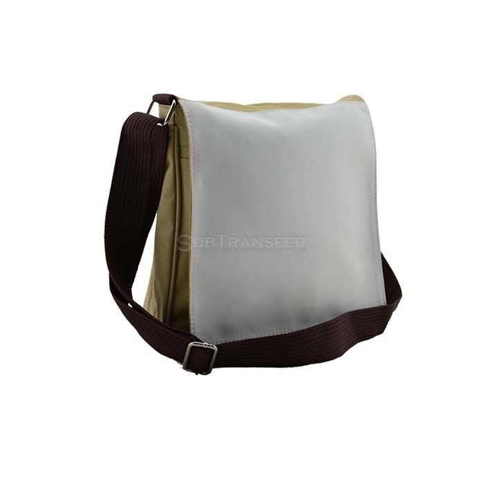 Sublimation Heat Transfer Shoulder Bag Beige Color
