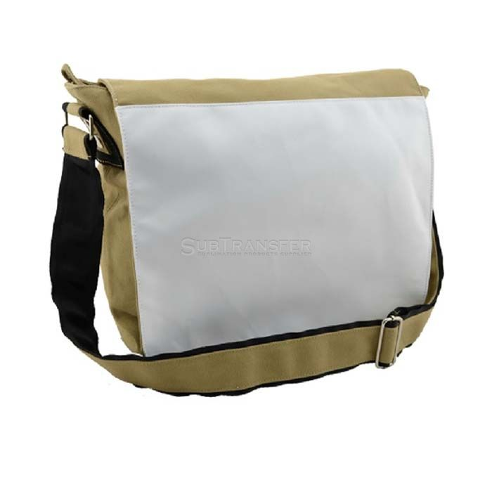 Sublimation Large Shoulder Bag Beige Color