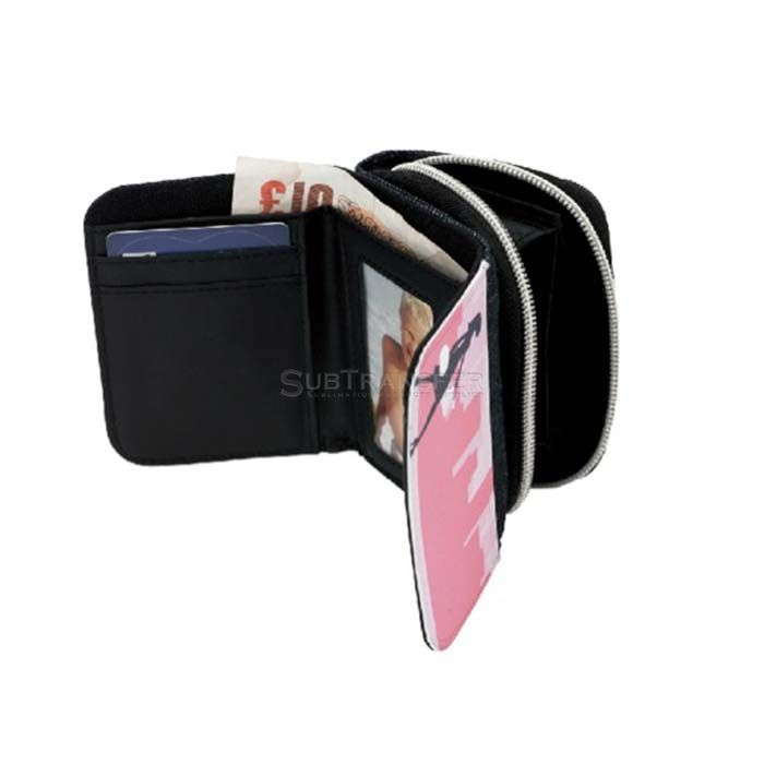 Sublimation Blue Denim Wallet