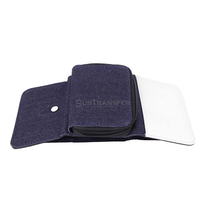 Sublimation Blue Denim Wallet