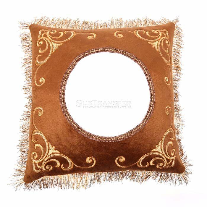 Sublimation Brown Pillow Case