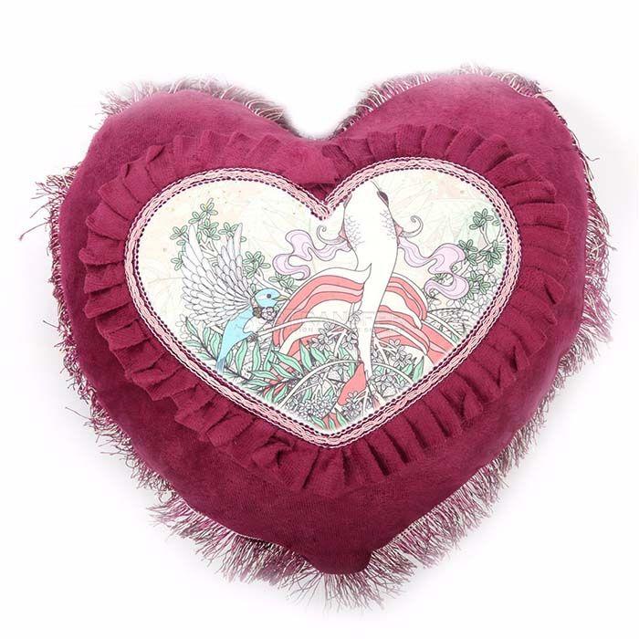 Heart Sublimation Pillow Case