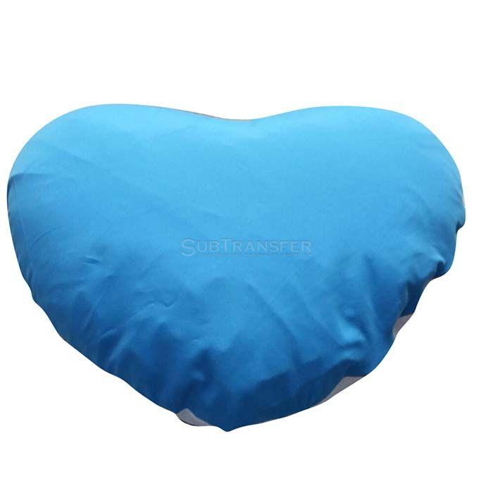 Sublimation Colored Heart Pillow case