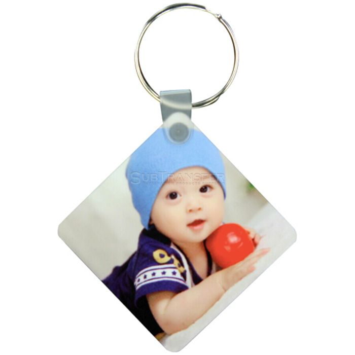 Sublimation MDF Keyring Square