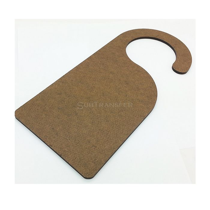 Sublimation MDF Door Hanger